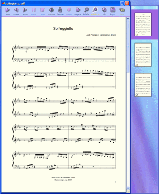 Click to view PDFtoMusic 1.3.0c screenshot