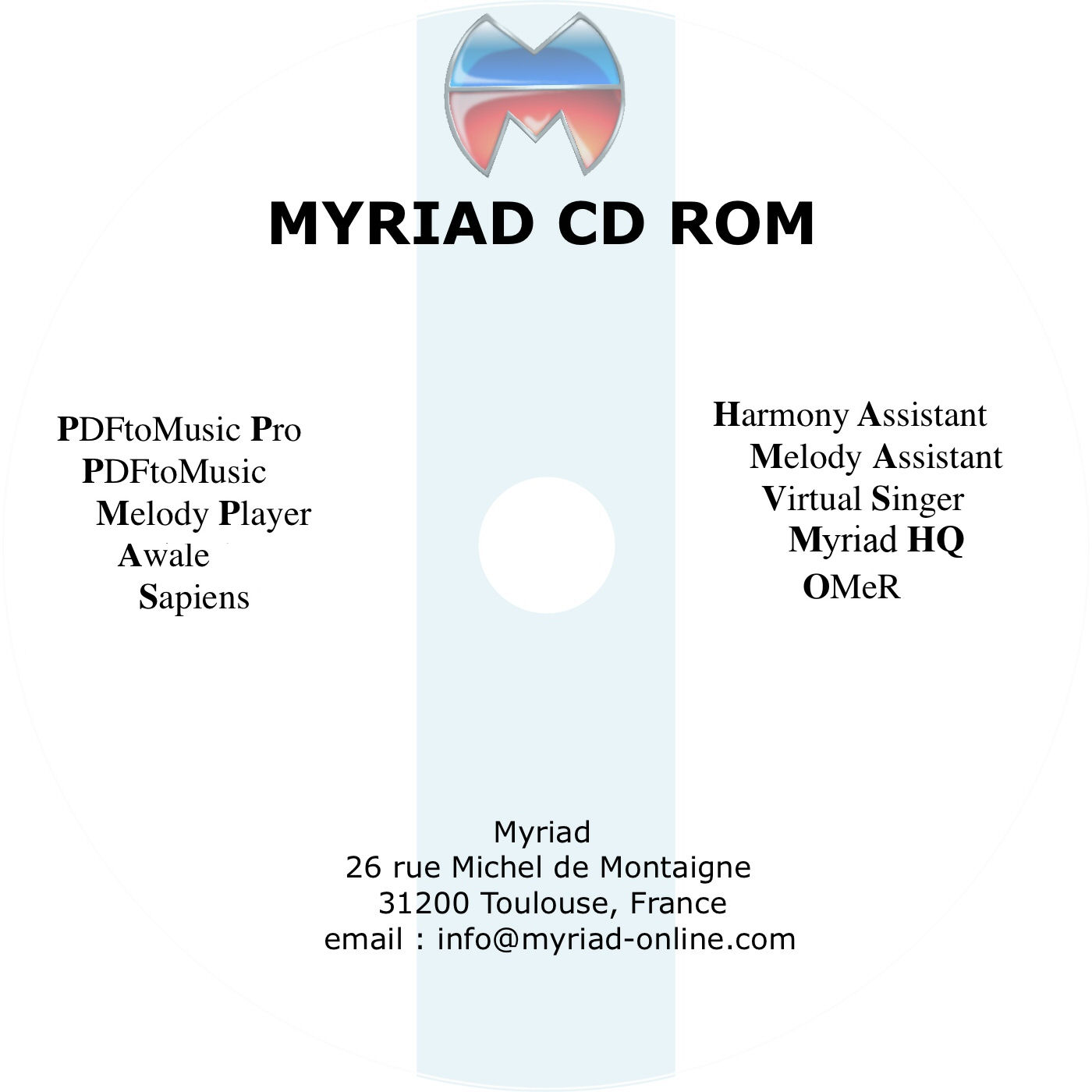 Myriad CD-ROM